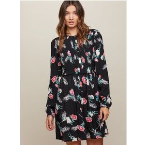 Miss Selfridge Floral Smock Skater Dress